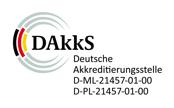 Dakks Zertifzierung ISO15189 & ISO17025